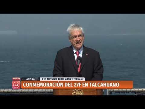 Presidente Piñera participa