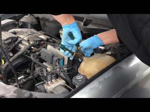 How to replace coolant reservoir 2004 saturn ion