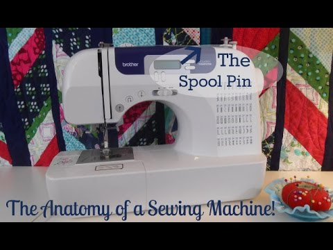 Learn To Sew Quick Snip The Spool Pin YouTube Best How To Replace Spool Pin On Brother Sewing Machine