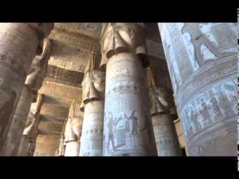 Город Кена, Дендера, храм Хатхор. City Ken, Dendera, the temple of Hathor.