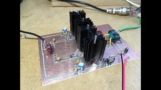 Homebrew 80/40m SSB/CW Rig - #9b RF Power Amplifier Experiments