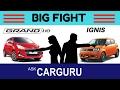 Hyundai GRAND i10 vs Maruti IGNIS, CARGURU, हिन्दी में, The Big Fight, Engine, Interior,, Price