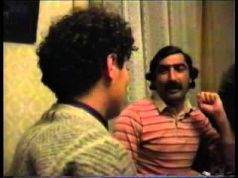 Having dinner with Rei Kawakubo and the Georgian Male Voice Choir in Tbilisi, Georgia 1989