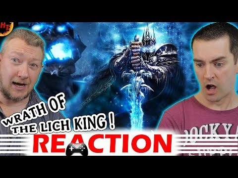 The ''BEST'' Expansion ? Wrath Of The Lich King Trailer REACTION (WOW)