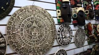 Reportaje de las artesanías en Cancùn.