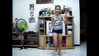 jessica bennett 13 years old dancing to runaway love by justin bieber