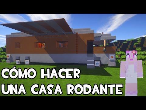 C mo hacer una casa rodante en minecraft tutorial for Casa moderna 7 mirote y blancana