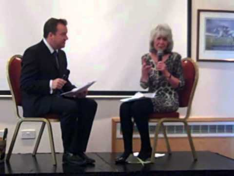 St Richard's Hospice lunch with Jilly Cooper