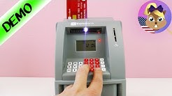 ATM FOR YOUR HOME! Electronic Home Money Bank