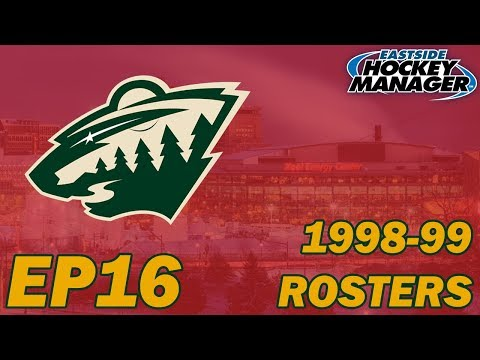 Eastside Hockey Manager: 1998-99 Minnesota Wild EP16 - Carolina Hurricanes