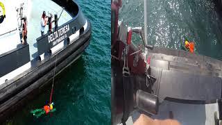 Baydelta Maritime, San Pedro - MOB Drill 8.17.21 *best viewed in 720p