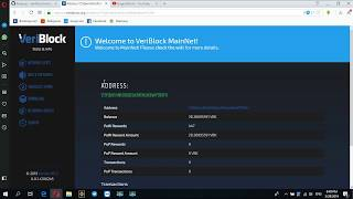 HOW TO SETUP VERIBLOACK WALLET ON YOUR PC AND SEE YOUR AMOUNT AND SEND IT TO BITTREX