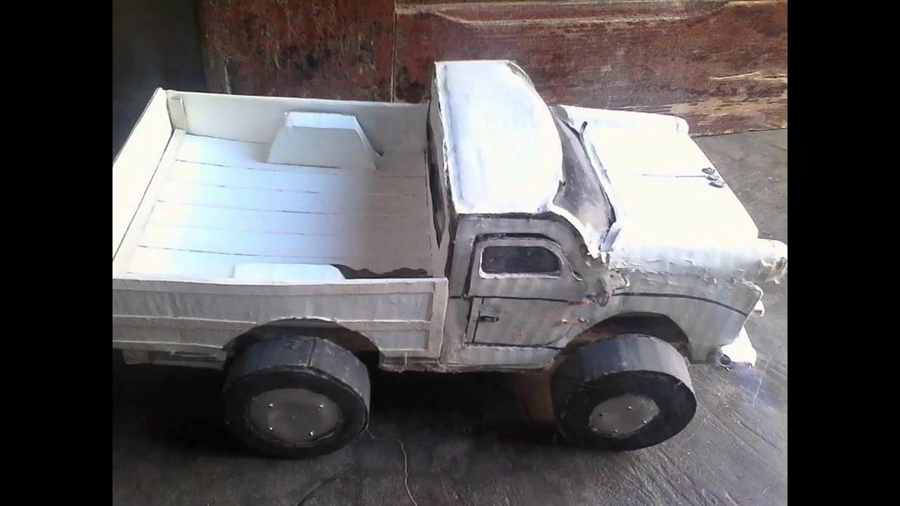 Fabriquer une voiture en carton youtube - Fabriquer une chaussure en carton ...