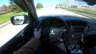 2015 Mitsubishi Pajero 3.2Diesel POV Test Drive