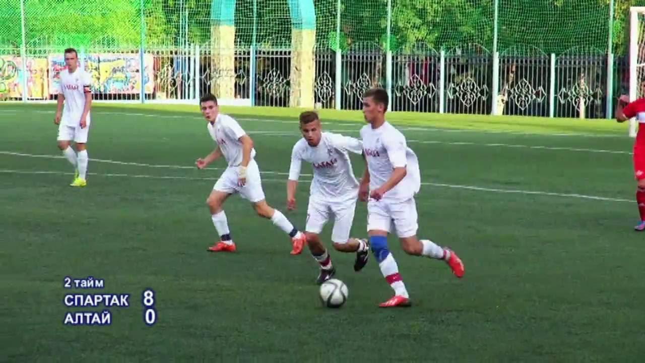 Футбол горно-алтайск спартак