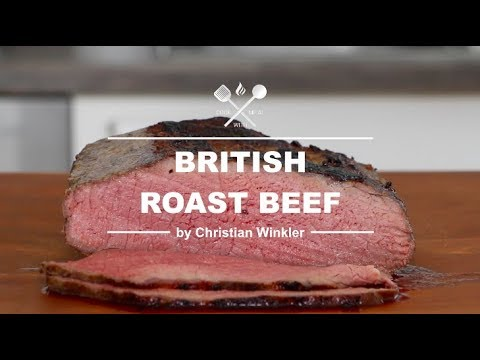 Traditional British Roast Beef - Oven Roasted - COOK THE CLASSICS WITH ME.AT 3