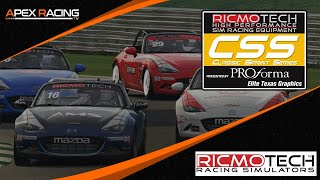 Ricmotech Classic Sprint Series  | Round 6 and 7 from Donington Park