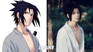 Naruto: Characters in real life (Cosplay)