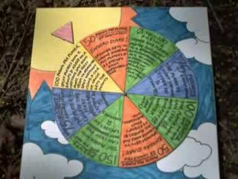 Earth Day Craft Cardboard Spinner Game for Kids