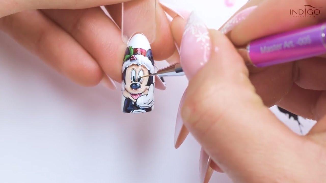 świąteczna Myszka Miki Bombka 3d Merry Christmas Indigo