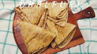 Dhalpuri Roti- Dalbhari  Puri  - Detailed Video step by step -Episode 30