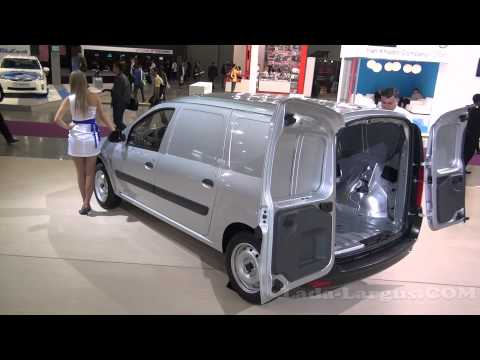 Ларгус фургон на выставке Интеравто 2011