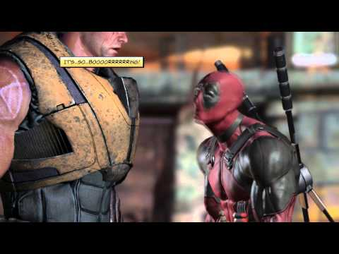 Funny moments with Deadpool and Cable