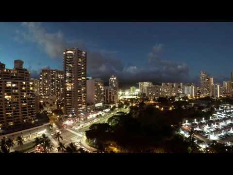 Time lapse Honolulu
