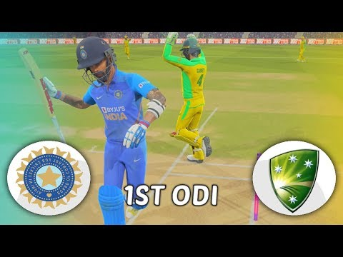 INDIA V AUSTRALIA 2020 GAMING SERIES - 1ST ODI - ASHES CRICKET 19