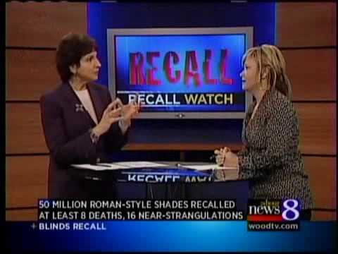 Expert discusses blinds recall