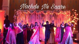 Nachde Ne Saare| Baar Baar Dekho| Wedding Choreography| Sidharth Malhotra| Katrina Kaif|Bolly Garage
