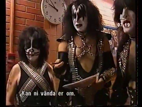 Kiss -Concert report (Stockholm jun 14th 1997)