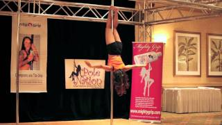 Miss Texas Pole Dance Competition 2011 - First Round - Empire State of Mind