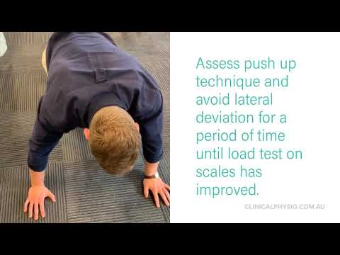How to Improve Wrist Pain with Push-ups