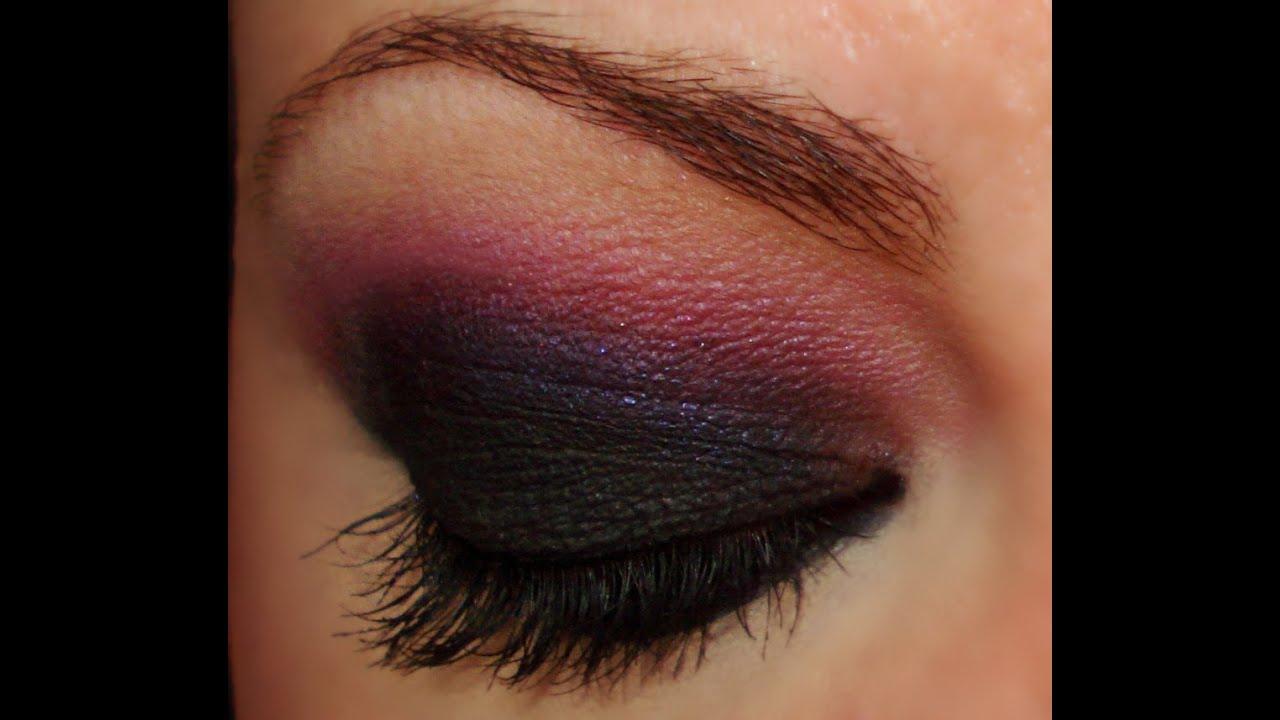 Maquillaje más Oscuro! Rosa Ahumado Inspirado en San Valentín 2 Smoky Eye  Español , YouTube