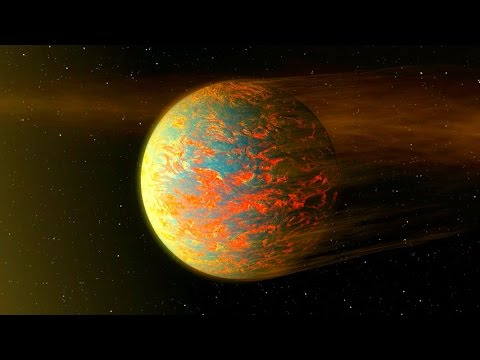 Hot Super-Earth May be a Lava-Planet | Video
