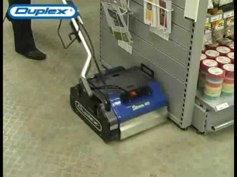 Duplex Floor Steam Cleaner for Carpets