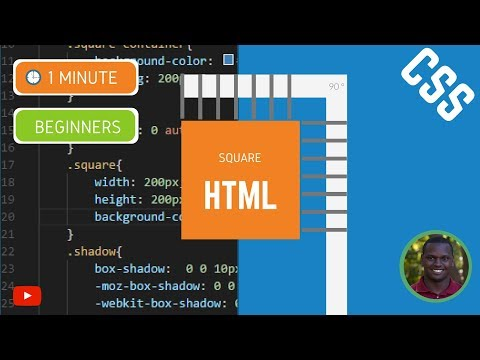 How To Make A Square In HTML And CSS