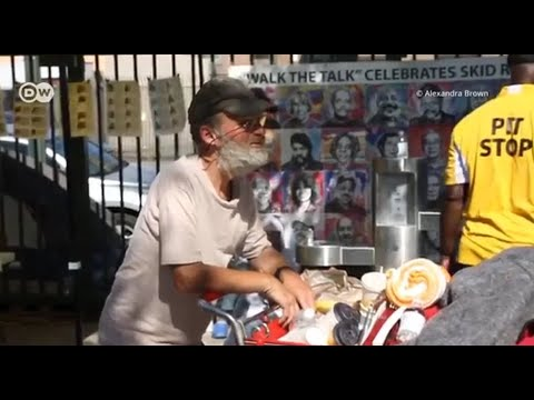 Deutsche Welle: Skid Row Artist Inspires His Community
