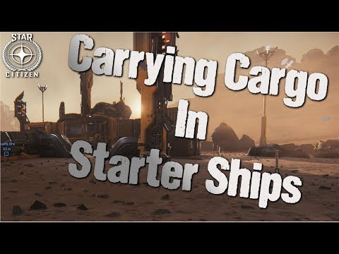 Star Citizen | Can Starter Ships Carry Cargo ?
