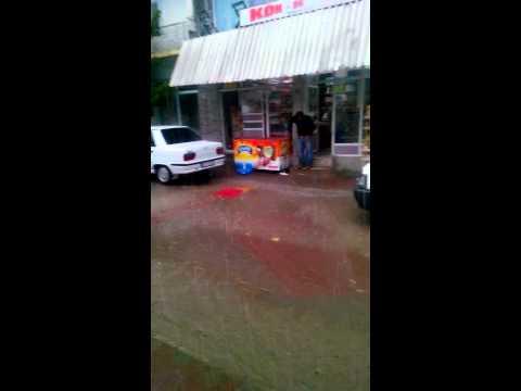 Palu'da sağanak yağış