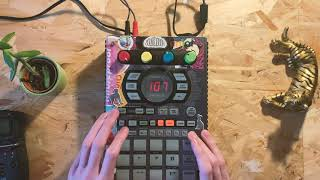 how to use Resample to make full lofi hiphop beats SP404sx/a