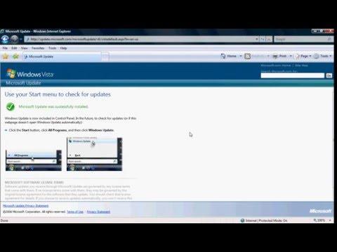 Vista's Windows Update