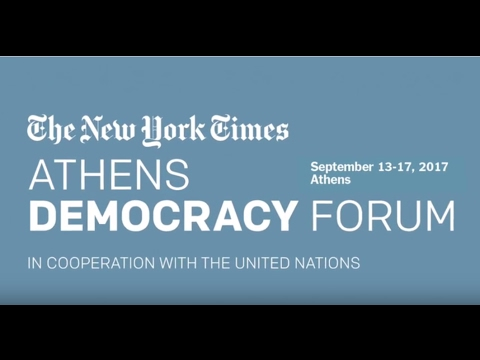 NYT Athens Democracy Forum 2017 Event Overview
