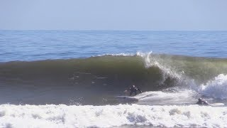 Classic Afternoon Surfing Conditions Raw