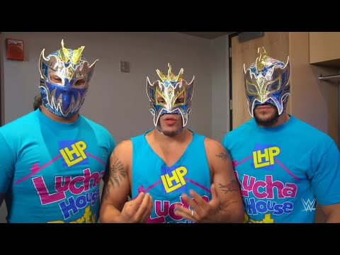 The Lucha House Party reveal the importance of a luchador's mask