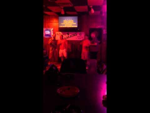 James & Ryan karaoke