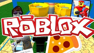 ROBLOX Part 1 Gameplay | Work At Pizza Theme Park