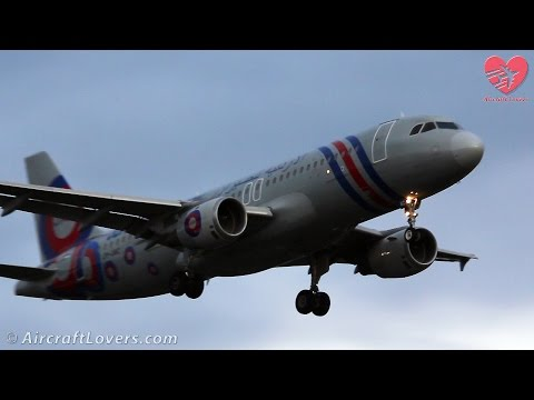 Oldest Airbus A320 In Service│Jordan Aviation│Germany, Berlin-Tegel TXL