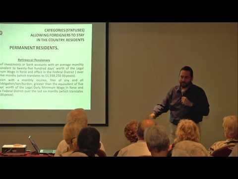 Yucatan State/SIFIDEY Immigration Meeting: Changes to the Laws